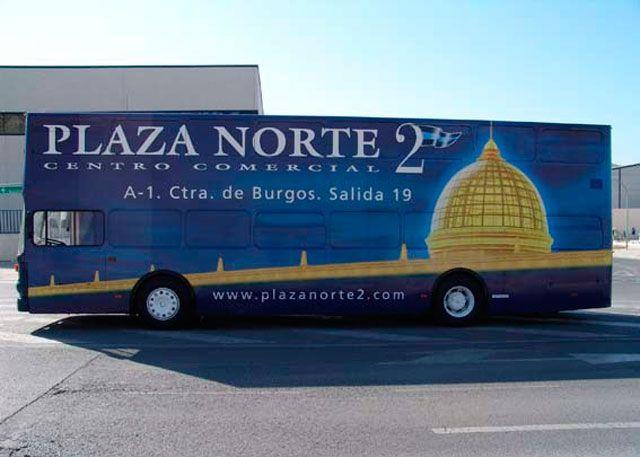 Publicidad en vehiculos y autobuses galer a de imagenes b - Peluqueria plaza norte 2 ...